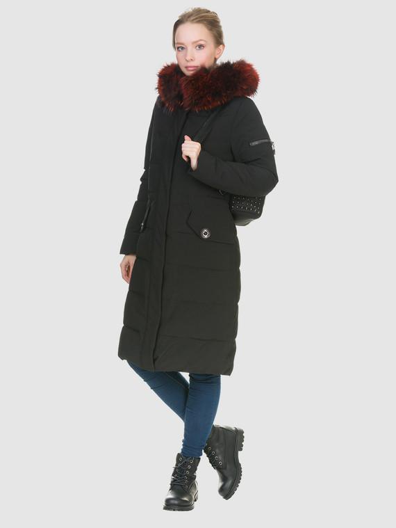 Пуховик текстиль, цвет черный, арт. 18902840  - цена 6290 руб.  - магазин TOTOGROUP