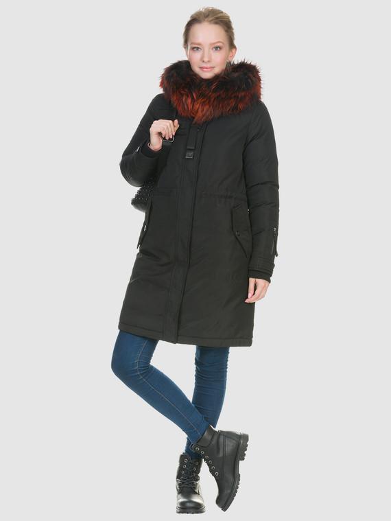 Пуховик текстиль, цвет черный, арт. 18902841  - цена 6290 руб.  - магазин TOTOGROUP
