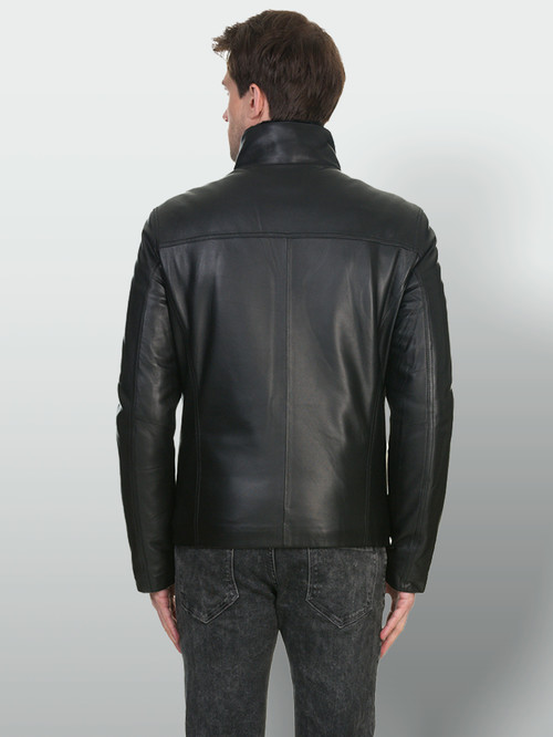 Кожаная куртка артикул 18902946/46 - фото 3