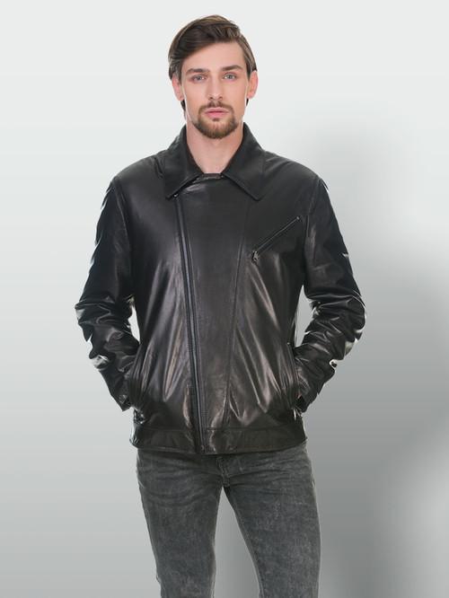 Кожаная куртка артикул 18902980/48 - фото 2