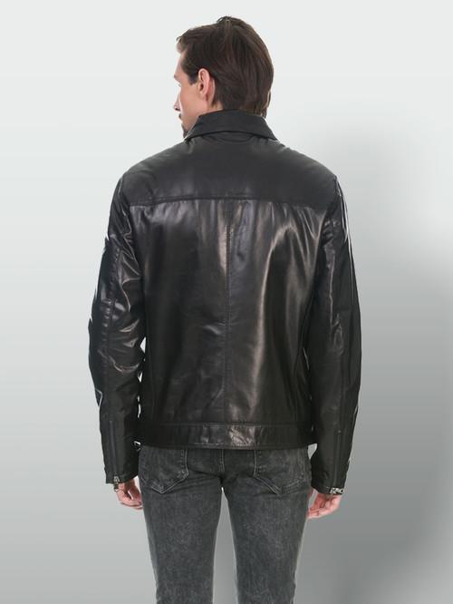 Кожаная куртка артикул 18902980/48 - фото 3