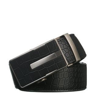 Ремень кожа теленок, цвет черный, арт. 18903237  - цена 1750 руб.  - магазин TOTOGROUP