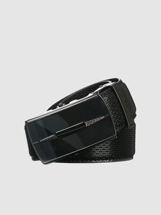 Ремень кожа теленок, цвет черный, арт. 18903239  - цена 1750 руб.  - магазин TOTOGROUP