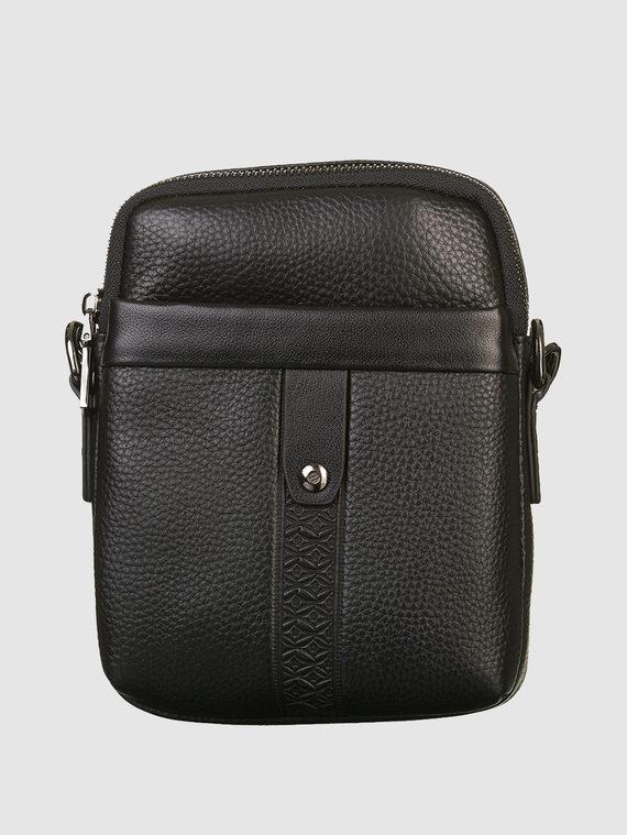 Сумка кожа флоттер, цвет черный, арт. 18903332  - цена 3390 руб.  - магазин TOTOGROUP