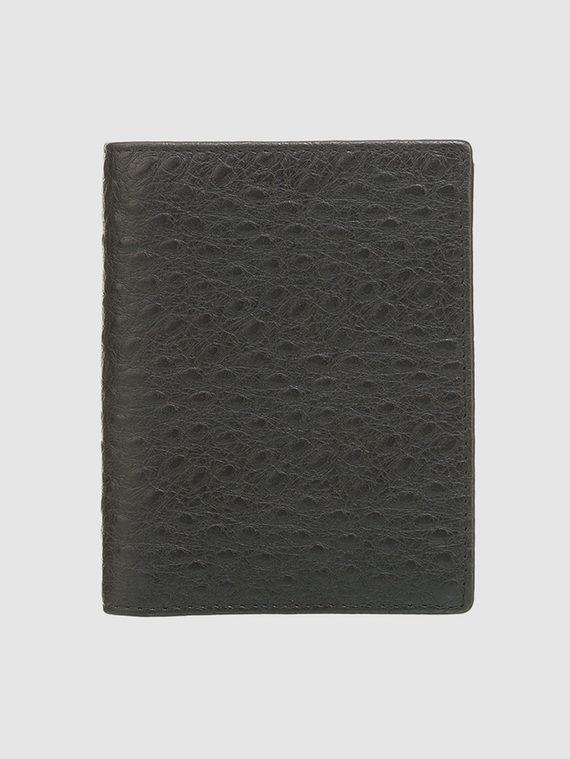 Кошелек эко кожа кожа  под буйвола, цвет черный, арт. 18903369  - цена 1410 руб.  - магазин TOTOGROUP