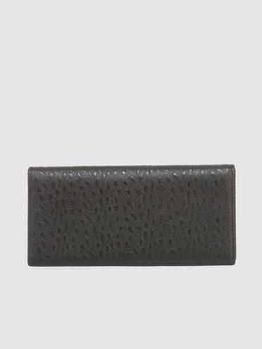Кошелек эко кожа кожа  под буйвола, цвет черный, арт. 18903372  - цена 1490 руб.  - магазин TOTOGROUP