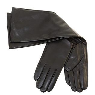 Перчатки кожа овца, цвет черный, арт. 18903432  - цена 2550 руб.  - магазин TOTOGROUP