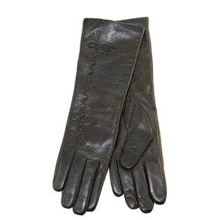 Перчатки кожа овца, цвет черный, арт. 18903436  - цена 2290 руб.  - магазин TOTOGROUP