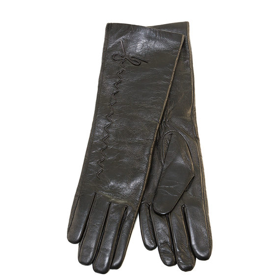 Перчатки кожа , цвет черный, арт. 18903436  - цена 1130 руб.  - магазин TOTOGROUP