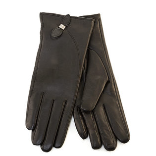 Перчатки кожа овца, цвет черный, арт. 18903438  - цена 2690 руб.  - магазин TOTOGROUP