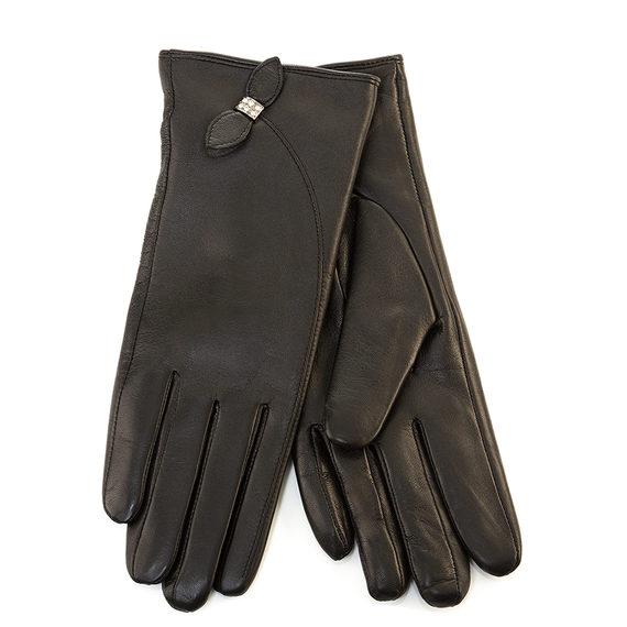 Перчатки кожа , цвет черный, арт. 18903438  - цена 1410 руб.  - магазин TOTOGROUP