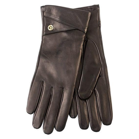 Перчатки кожа , цвет черный, арт. 18903441  - цена 1130 руб.  - магазин TOTOGROUP