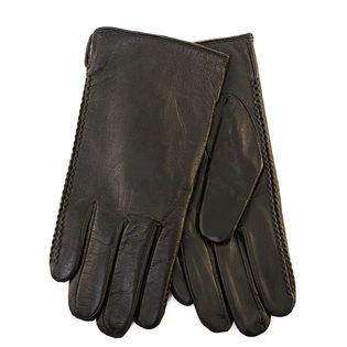Перчатки кожа коза, цвет черный, арт. 18903453  - цена 1950 руб.  - магазин TOTOGROUP