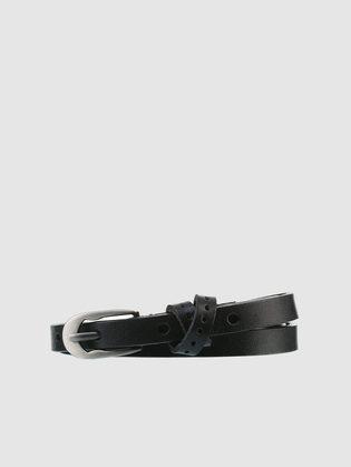 Ремень кожа теленок, цвет черный, арт. 18903579  - цена 990 руб.  - магазин TOTOGROUP