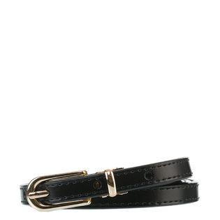 Ремень кожа теленок, цвет черный, арт. 18903580  - цена 990 руб.  - магазин TOTOGROUP