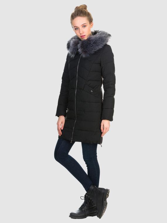 Пуховик текстиль, цвет черный, арт. 18903599  - цена 4490 руб.  - магазин TOTOGROUP