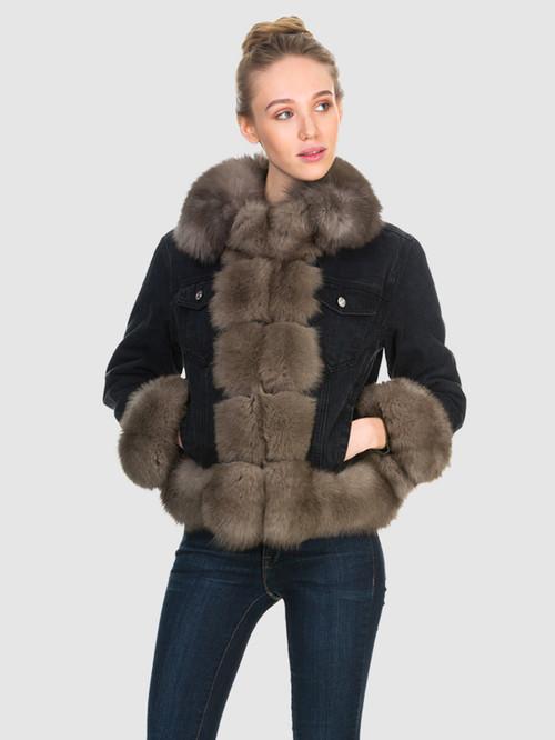 Текстильная куртка артикул 18903600/44 - фото 2