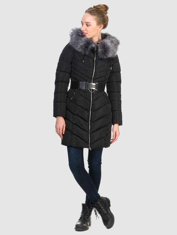 Пуховик текстиль, цвет черный, арт. 18903602  - цена 3990 руб.  - магазин TOTOGROUP