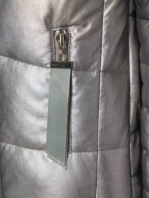 Кожаная куртка артикул 19006835/42 - фото 4