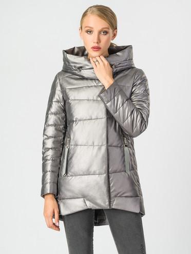 Кожаная куртка эко-кожа 100% П/А, цвет металлик, арт. 19006835  - цена 6290 руб.  - магазин TOTOGROUP