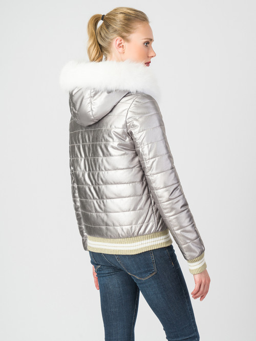 Кожаная куртка артикул 19007304/40 - фото 3