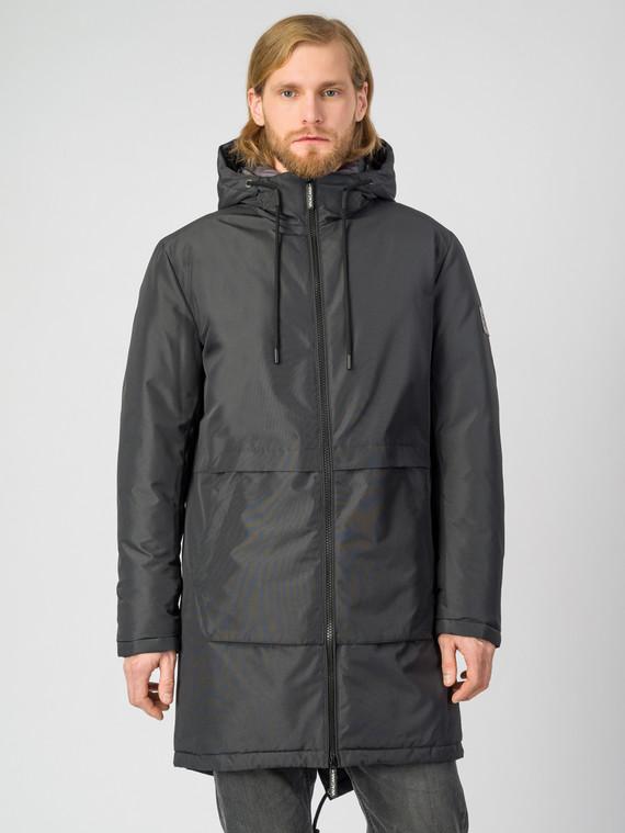Пуховик текстиль, цвет черный, арт. 21006503  - цена 6290 руб.  - магазин TOTOGROUP