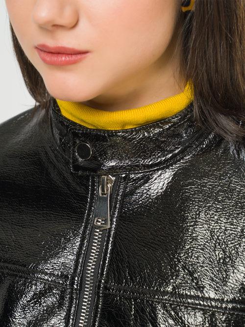 Кожаная куртка артикул 21810081/40 - фото 4