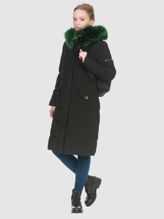 Пуховик текстиль, цвет черный металлик, арт. 21902840  - цена 7490 руб.  - магазин TOTOGROUP