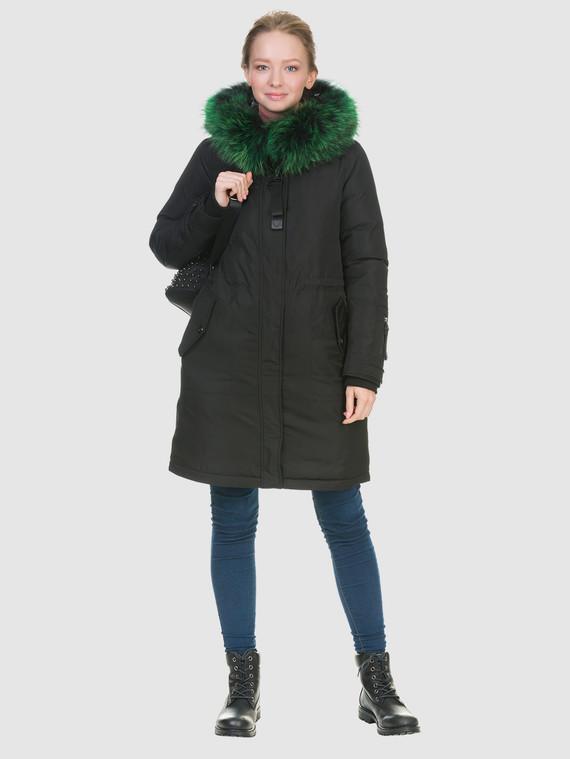 Пуховик текстиль, цвет черный металлик, арт. 21902841  - цена 6290 руб.  - магазин TOTOGROUP