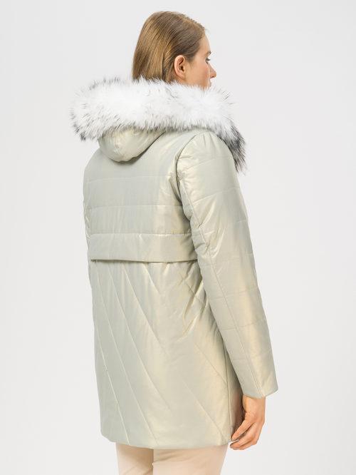 Кожаное пальто артикул 23109022/46 - фото 3