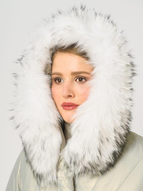 Кожаное пальто артикул 23109022/46 - фото 4