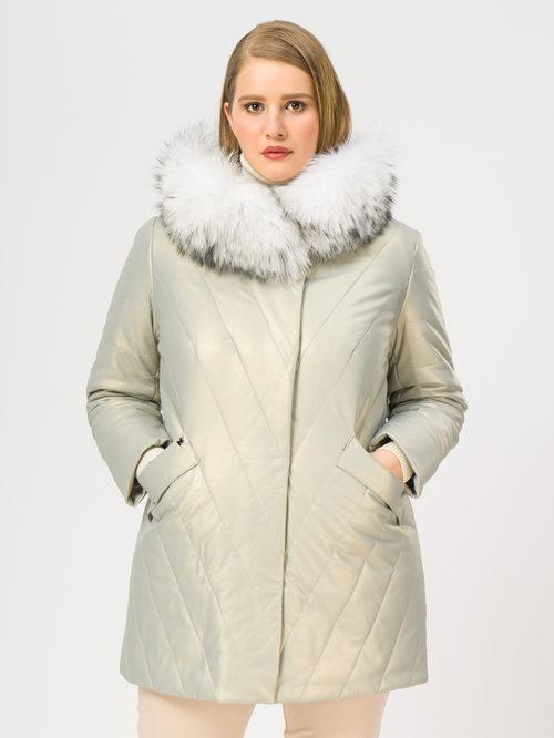 Кожаное пальто артикул 23109022/46