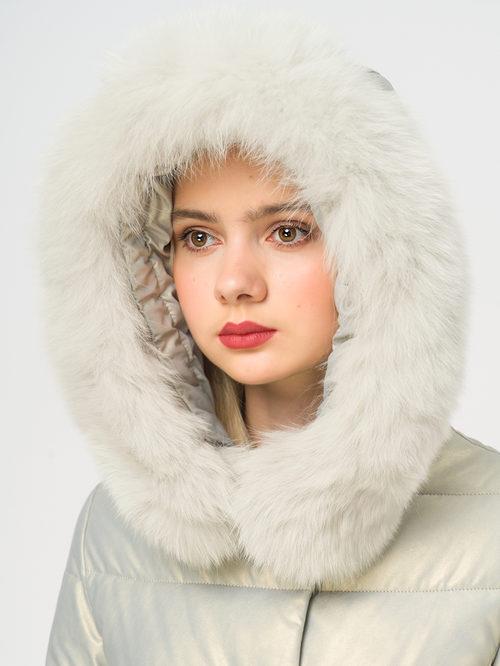 Кожаное пальто артикул 23109241/42 - фото 4