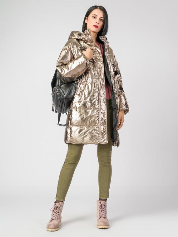 Пуховик текстиль, цвет желтый металлик, арт. 24006512  - цена 5890 руб.  - магазин TOTOGROUP