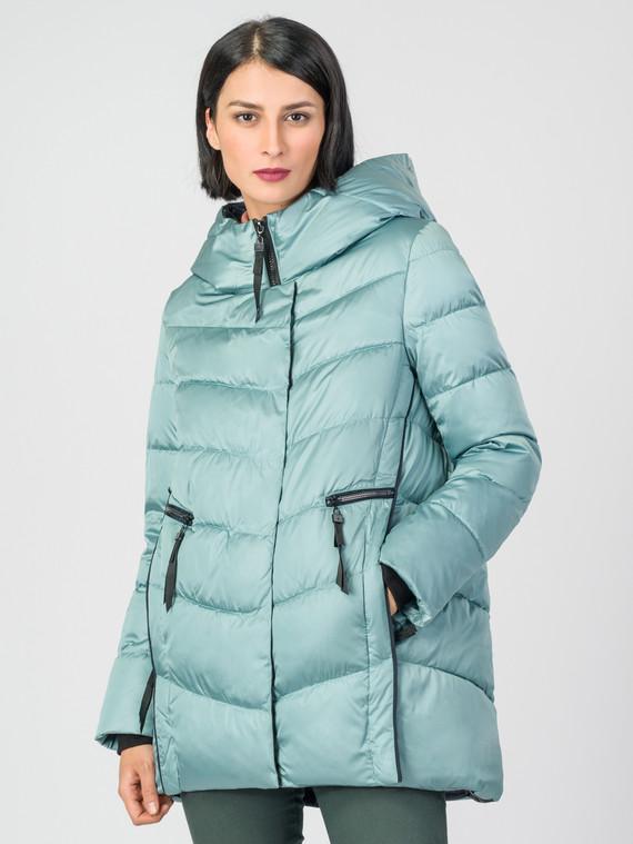 Пуховик текстиль, цвет бирюзовый, арт. 25006257  - цена 5290 руб.  - магазин TOTOGROUP