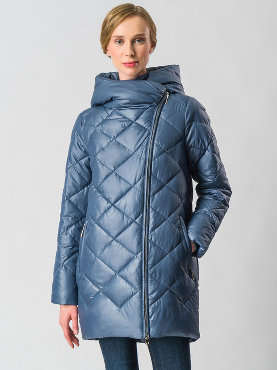 Пуховик текстиль, цвет синий, арт. 25006286  - цена 9490 руб.  - магазин TOTOGROUP