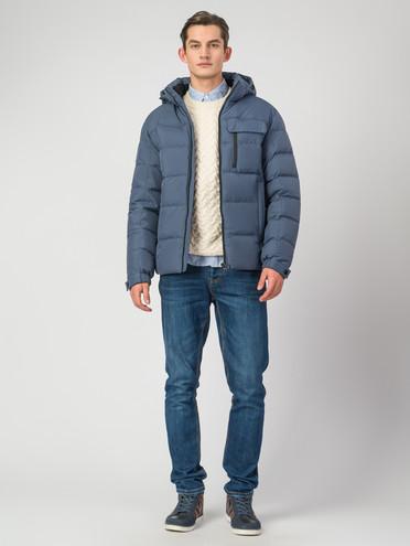 Пуховик текстиль, цвет голубой, арт. 25006340  - цена 4990 руб.  - магазин TOTOGROUP
