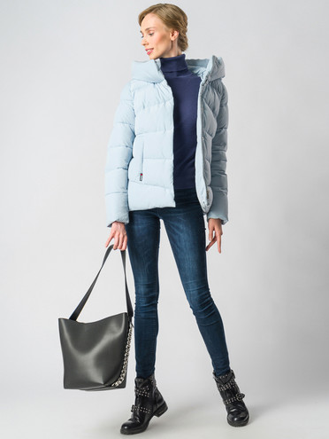 Пуховик текстиль, цвет голубой, арт. 25006452  - цена 7990 руб.  - магазин TOTOGROUP