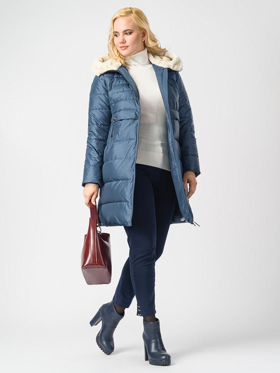Пуховик текстиль, цвет синий, арт. 25006560  - цена 6290 руб.  - магазин TOTOGROUP