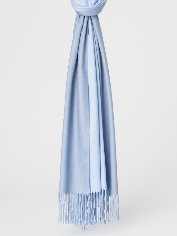 Шарф 30%хлопок,70%кашемир, цвет синий, арт. 25107792  - цена 1190 руб.  - магазин TOTOGROUP