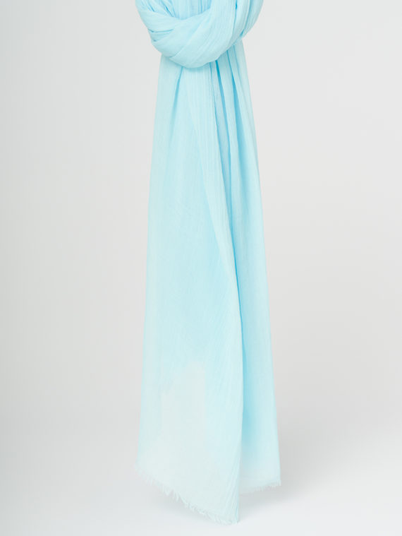 Шарф 100% бамбук, цвет голубой, арт. 25107795  - цена 990 руб.  - магазин TOTOGROUP