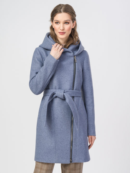 Текстильное пальто артикул 25107813/42 - фото 2