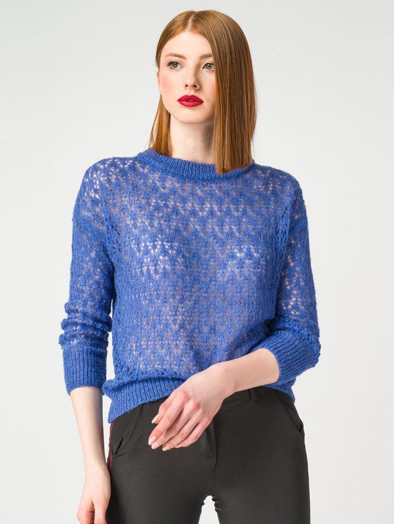 Джемпер 50% акрил 30% полиамид 10% шерсть 10% мохер, цвет голубой, арт. 25108372  - цена 1490 руб.  - магазин TOTOGROUP