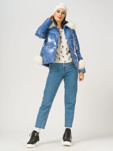 Пуховик 100% полиэстер, цвет голубой, арт. 25108568  - цена 3990 руб.  - магазин TOTOGROUP