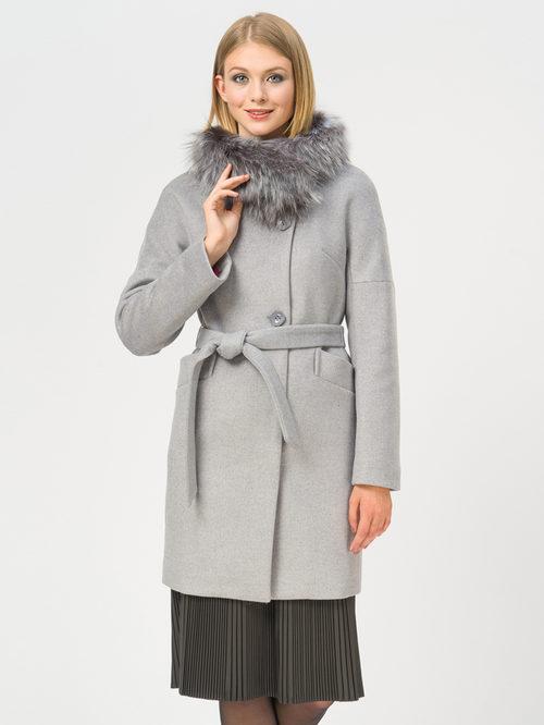 Текстильное пальто артикул 25109208/48 - фото 2