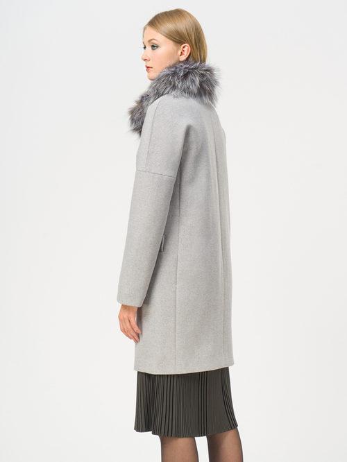 Текстильное пальто артикул 25109208/48 - фото 3