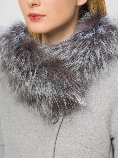 Текстильное пальто артикул 25109208/48 - фото 4