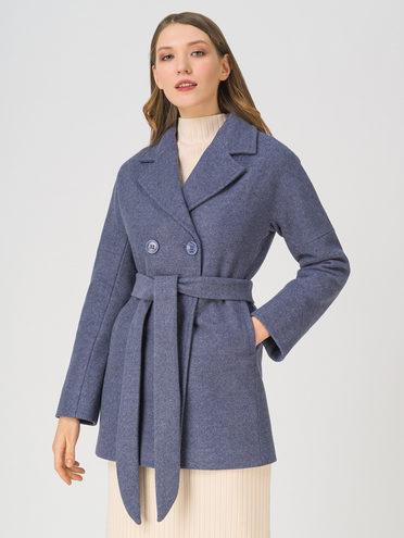 Текстильная куртка 65% хлопок , 35% полиэстер, цвет голубой, арт. 25711432  - цена 5890 руб.  - магазин TOTOGROUP