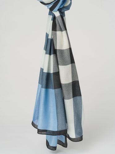 Шарф 100% вискоза, цвет голубой, арт. 25711555  - цена 890 руб.  - магазин TOTOGROUP