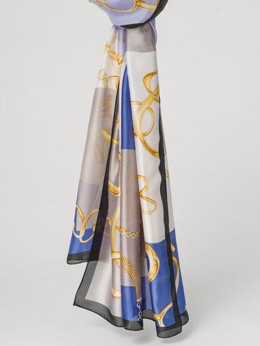 Шарф 100% полиэстер, цвет голубой, арт. 25711591  - цена 890 руб.  - магазин TOTOGROUP